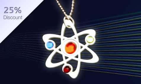Anatomology: Science Necklace (reg price: $24 USD)