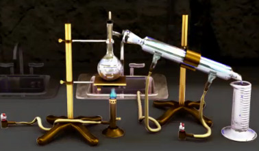 Chemical distilation setup