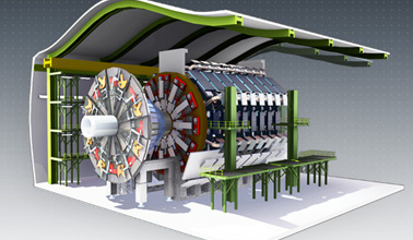 Schematic of the large hadron collider